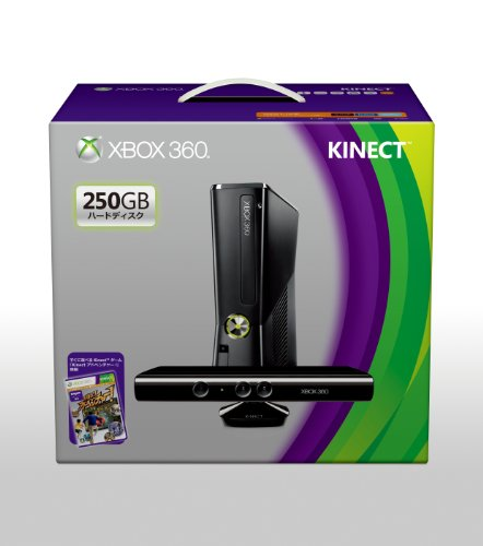 Xbox 360 250GB Kinect S7G 00037