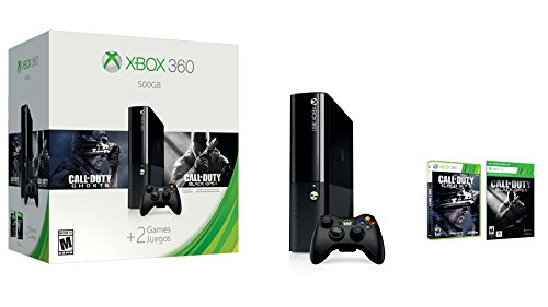 Xbox 360 500GB Call Duty Bundle