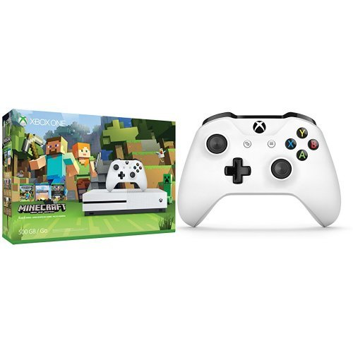 Xbox One 500GB Console Minecraft Controller