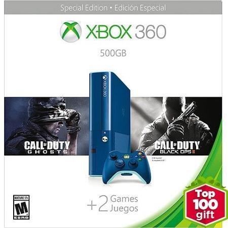 Xbox 360 500GB Blue COD BO2