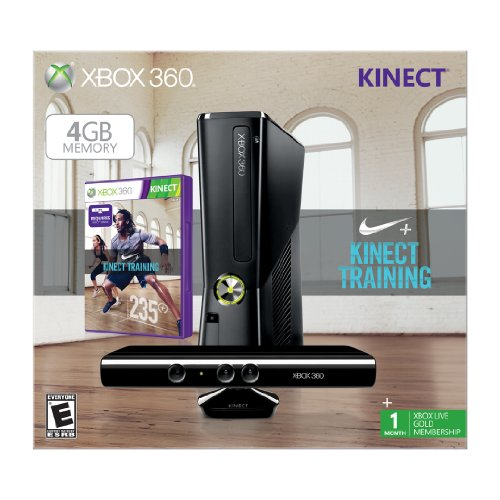 Xbox 360 4GB Kinect Nike Bundle