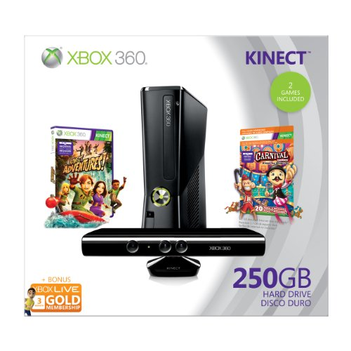 Xbox 360 250GB Holiday Bundle Kinect