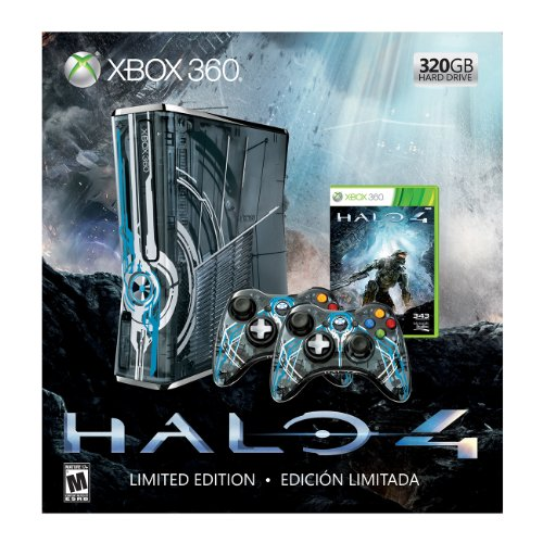 Xbox 360 Limited Halo 4 Bundle