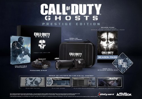 Call Duty Ghosts Prestige Xbox One