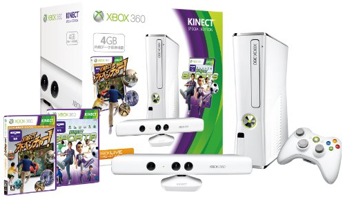 Xbox 360 Kinect Special Pure White