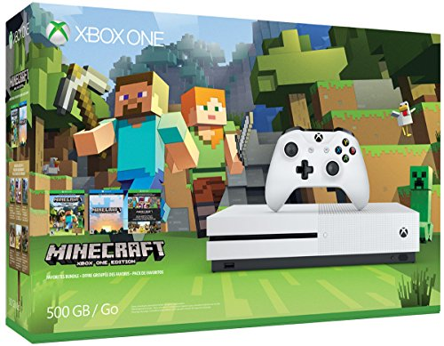 Xbox One 500GB Console Minecraft Bundle