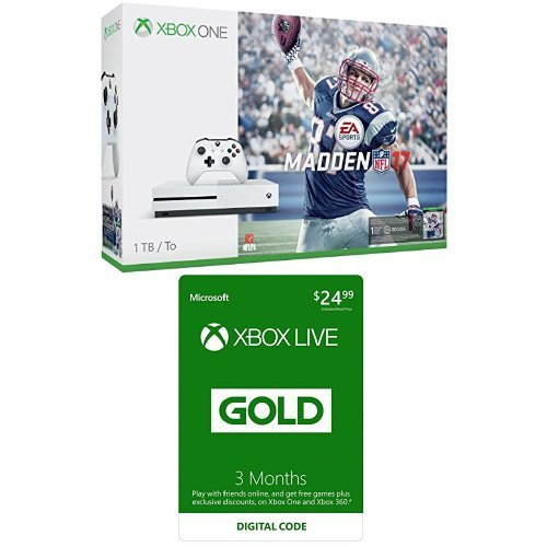 Xbox One Console Madden Membership Bundle