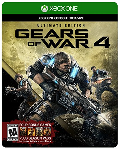 Gears War Ultimate SteelBook Physical Season