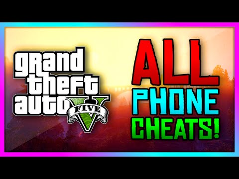 GTA 5 Xbox One / PS4  – ALL New Phone Cheat Codes! Enter Cheats Through Your Phone! (GTA V)