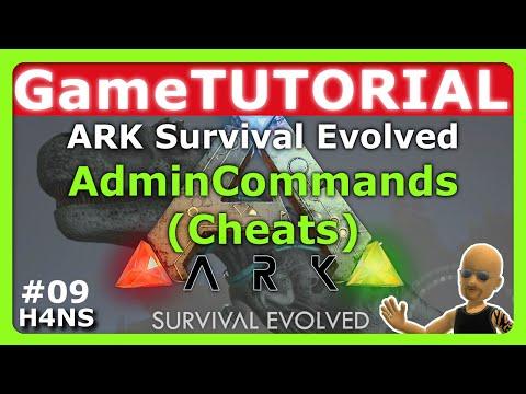 ARK – Admin Commands Cheats Tutorial XBOX ONE #09