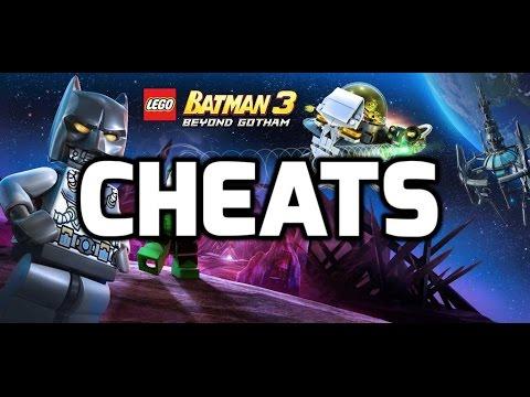 Lego Batman 3 Beyond Gotham Cheats, Cheat Codes XBOX ONE, PS4, PS3, XBOX 360, PC, Wii U