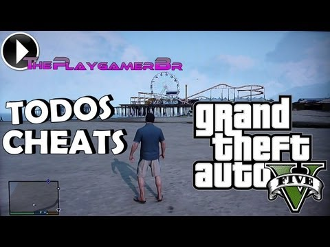 GTA V – Testando Todos : Cheats, Códigos (PS3 – XBOX 360 – PS4 – XBOX ONE) PT-BR