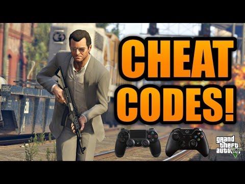 """GTA 5: """"ALL CHEAT CODES!"""" – PS4 & Xbox One [Cheats] (Grand Theft Auto V: All Cheats)"""