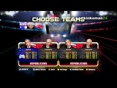 NBA JAM: Unlock Barack Obama Xbox 360 PS3 Hidden Character Cheats