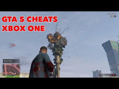 ALL GTA 5 CHEATS & CODES – XBOX ONE