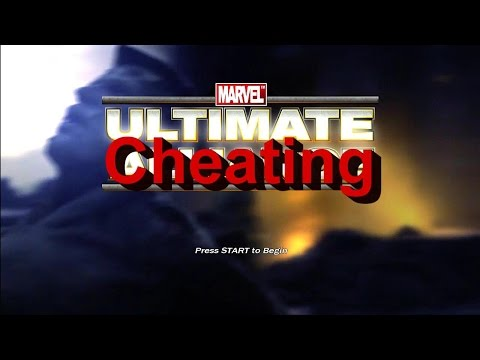 Ultimate Alliance All Cheats Gameplay Xbox 360