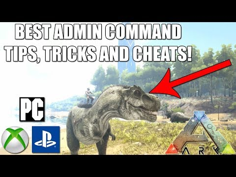 ARK – ADMIN COMMANDS TIPS, TRICKS AND CHEATS! – XBOX ONE/PS4/PC! – CONSOLE COMMANDS!