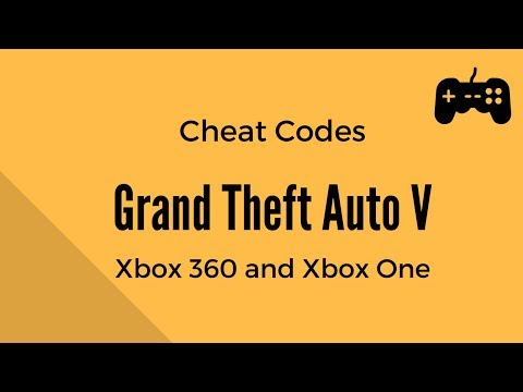Grand Theft Auto V (GTA 5) – All Cheat Codes – Xbox 360 and Xbox One
