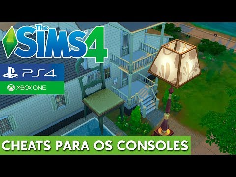 CHEATS NO THE SIMS 4 PS4 E XBOX ONE