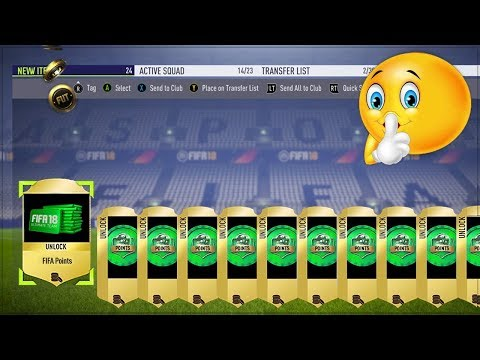 FIFA 18 CHEAT CODES!! (Working Xbox & PS4)