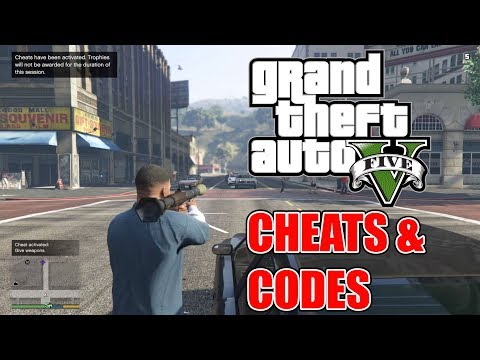 GTA 5 Cheats (Xbox One / Xbox 360 Version)