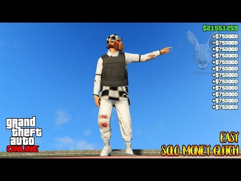 Solo EASY Unlimited GTA 5 Money Glitch 100% Working Legit (GTA 5 Online Money Glitch) 1.42