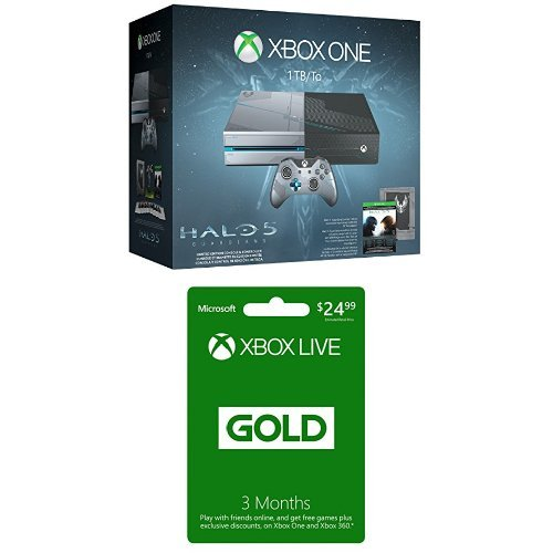 xbox one 1tb console  halo 5 guardians limited edition