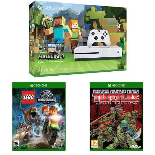 Xbox One 500GB Console Minecraft Manhattan