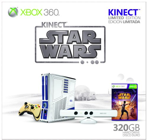 Xbox 360 Limited Kinect Star Bundle