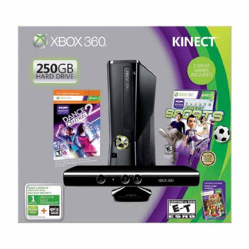Xbox 360 250GB Kinect Holiday Bundle