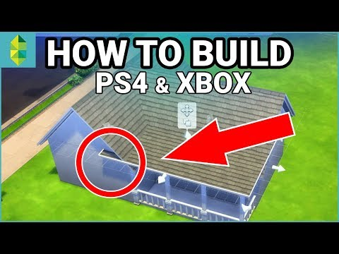 [PS4/Xbox] HOW TO BUILD – Cheats, Scaling, & More! (Sims 4 Console)