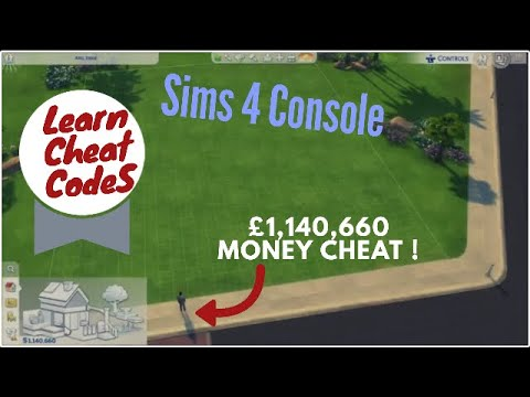 The Sims 4 Console Cheats –  money cheat on Xbox/PS4