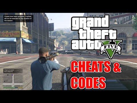 GTA 5 Cheats (Xbox One / Xbox 360 Version)