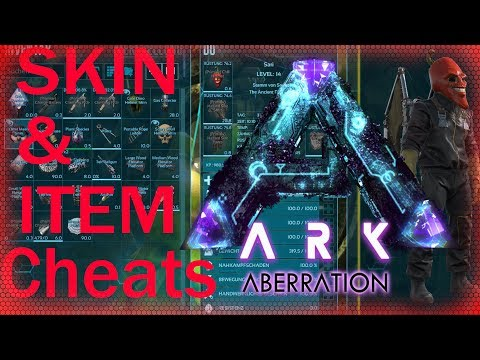ARK Aberration Cheats PS4 – XBOX – PC Skin & Items Commands / 100% Short gfi cheats