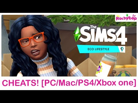 The Sims 4 Eco Lifestyle CHEATS PC Mac XBox One + PS4
