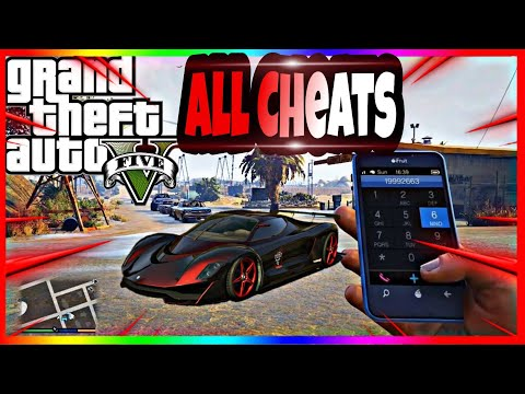 All GTA 5 Cheats 2020 (PS4/PS3/PC/XBOX)