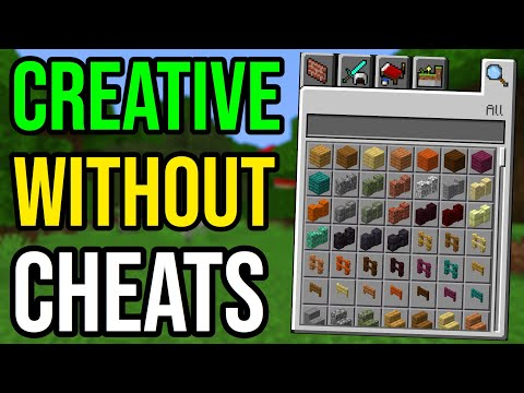 How To Get Creative Mode WITHOUT Cheats In Minecraft (PS4/Xbox/PE/Bedrock)