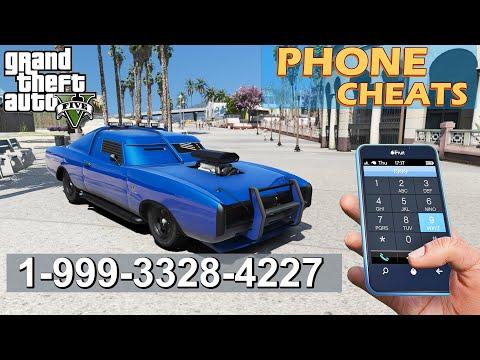 GTA 5 Phone Cheats ( PS4, XboxOne and PC )