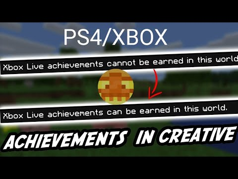 *EASY* All Achievements In Creative! Cheats Off 1.16+ | PS4 XBOX PATCHED
