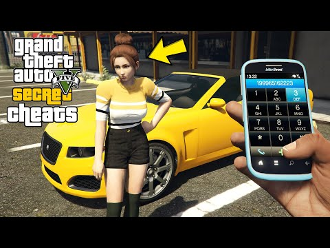 GTA 5 – Secret Phone Cheats! (PC, PS4, Xbox One, PS3 & Xbox 360)