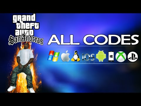 GTA San Andreas – ALL CHEATS + Demonstration [PC/iOS/Android/PS2/PS3/PS4/Xbox/Xbox360/XboxOne]