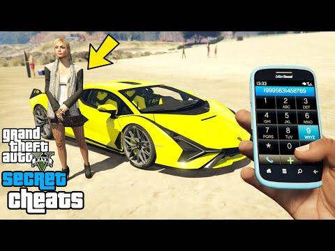 GTA 5 – Secret Phone Cheats! (PC, PS4, PS3 & Xbox One)