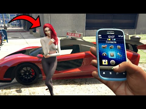 GTA 5 – Secret Phone Cheats! (PC, PS & Xbox)