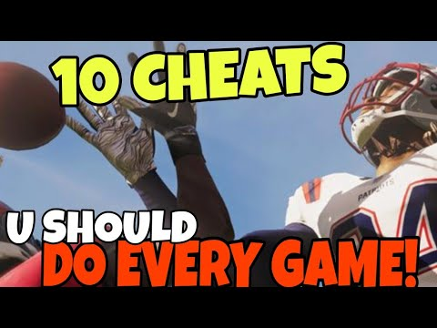 10 CHEATS U Don't Know, But Should DO EVERY GAME! Madden NFL 21 Offense & Defense Tips and Tricks!