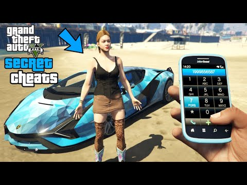 GTA 5 – Secret Phone Cheats! (PC, PS4, PS3 & Xbox One #2)