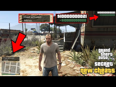 GTA 5 – Secret All New Cheats 2021! (PC, PS4, PS3 & Xbox One)