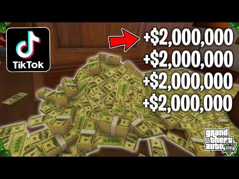 Testing Viral TikTok GTA 5 Online Money Glitches! (Part 25)