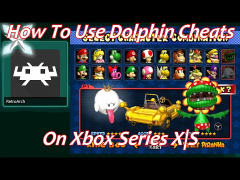[Xbox Series X|S] Retroarch Dolphin How To Use Cheats/Patches – Dev Mode